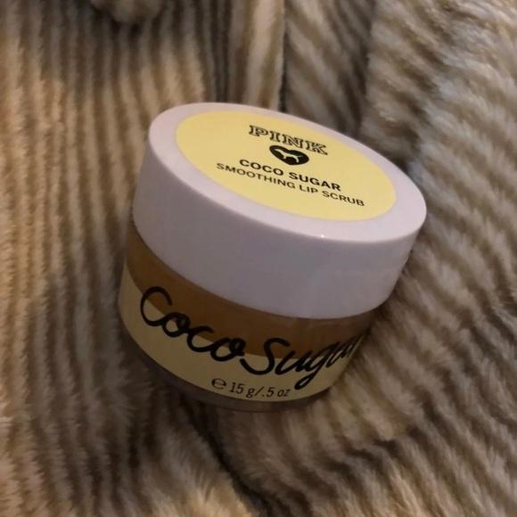 ded5bba9f8d2d Vs PINK coco sugar smoothing lip scrub NWT